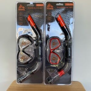 NEW RBX Adult and Youth Snorkeling Set
